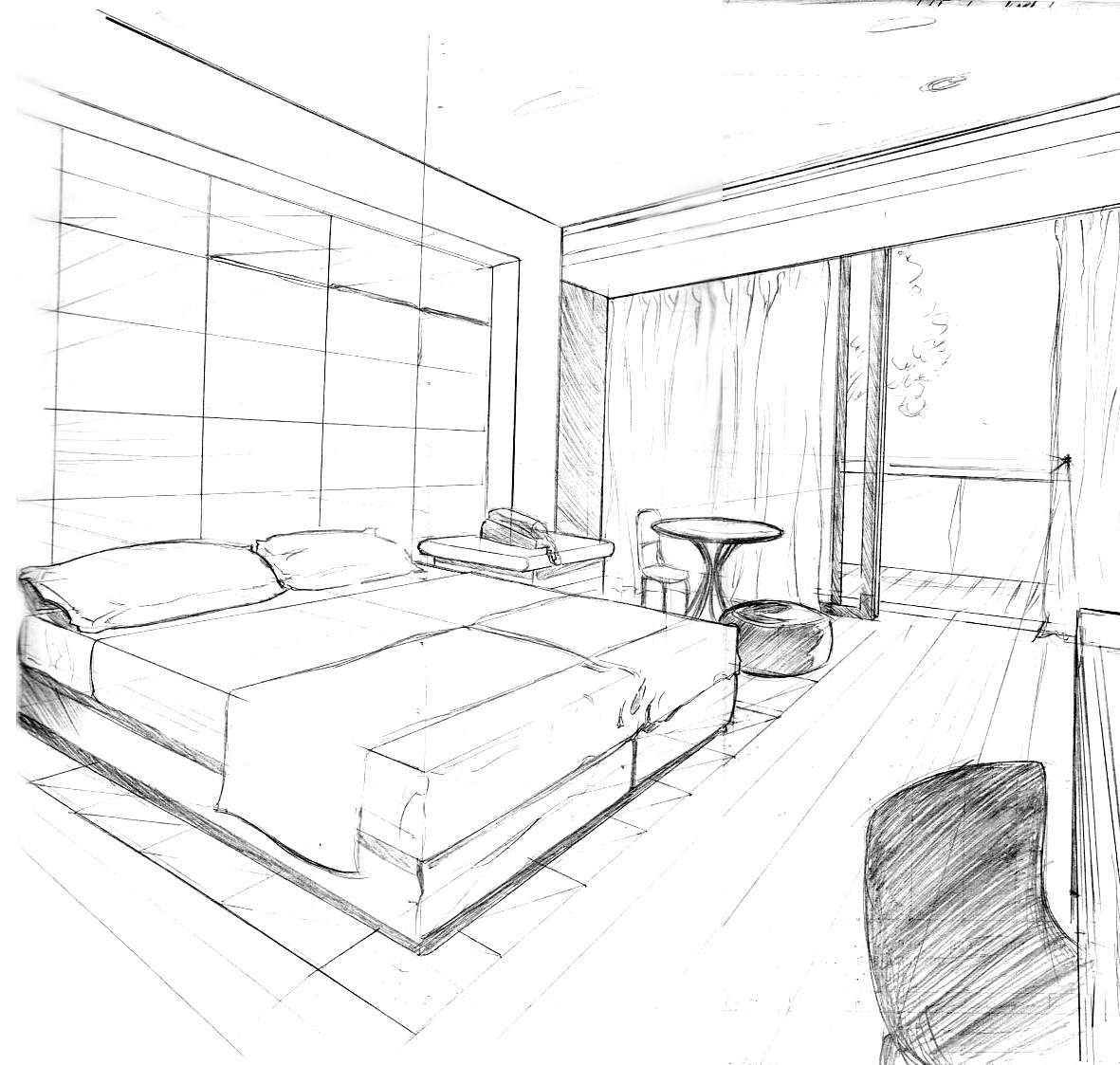 cuarto cama expoarte consa